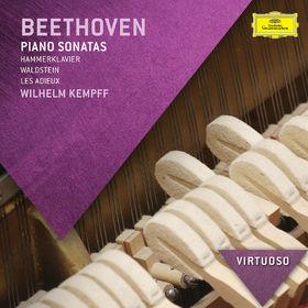 Virtuoso, Beethoven: Piano Sonatas - Hammerklavier, Waldstein, Les Adieux, 00028947856955