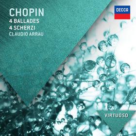 Virtuoso, Chopin: 4 Ballades; 4 Scherzi, 00028947856917