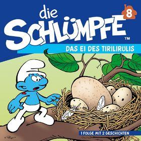 Die Schlümpfe, 08: Das Ei des Tirilirulis / Sparakel und Pitipus, 00602537475179