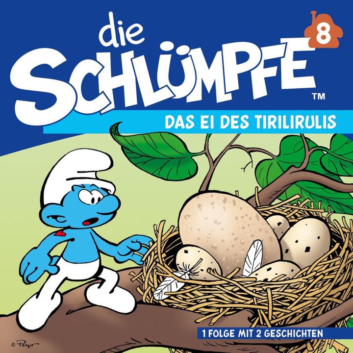 08: Das Ei des Tirilirulis / Sparakel und Pitipus : Die Schlümpfe