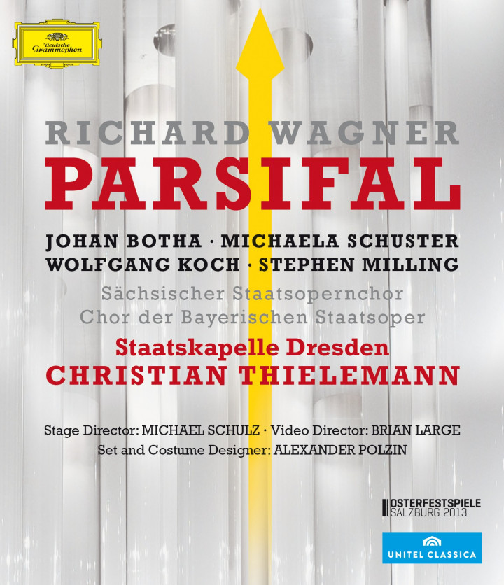 Wagner: Parsifal Blu-ray Disc