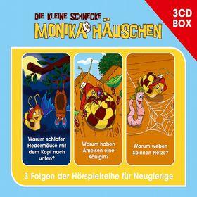 Die kleine Schnecke Monika Häuschen, Die kleine Schnecke Monika Häuschen - Hörspielbox Vol. 3, 00602537470624