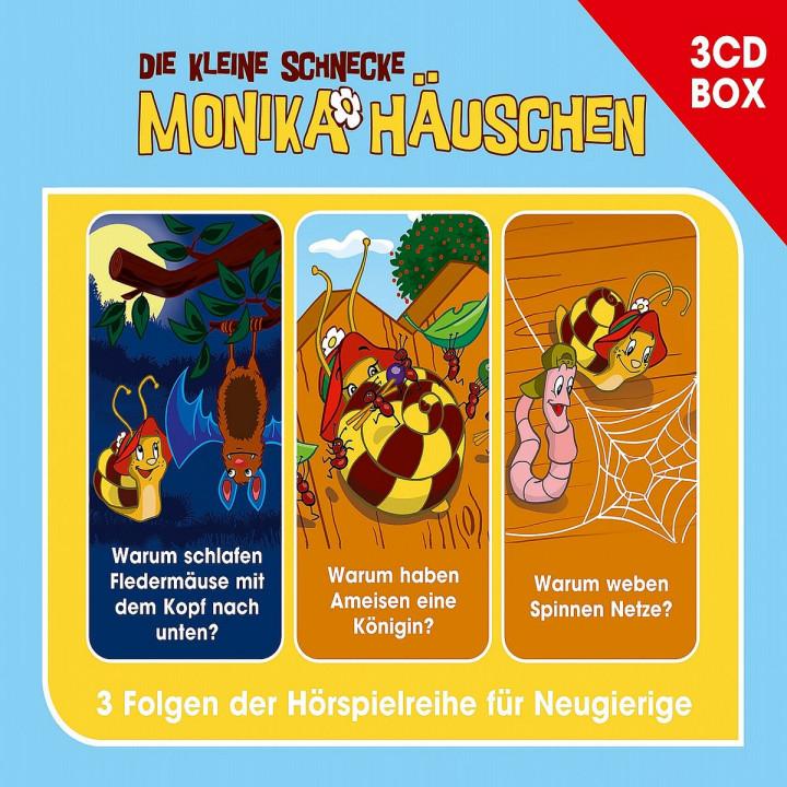 Monika Häuschen Hörspielbox Vol. 3: Die kleine Schnecke Monika Häuschen