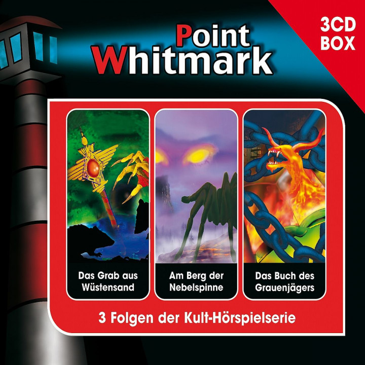 Point Whitmark - 3-CD Hörspielbox Vol.3: Point Whitmark