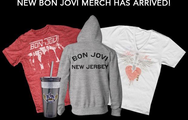 Bon Jovi Fanartikel
