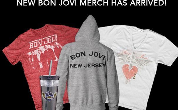 Bon Jovi, Die neuen Bon Jovi Fanartikel sind da