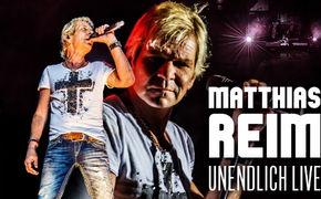 Matthias Reim, Matthias Reim - die Unendlich Live DVD schiesst von null auf Platz Eins in die Charts