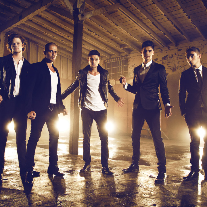 The Wanted Pressefoto 2013