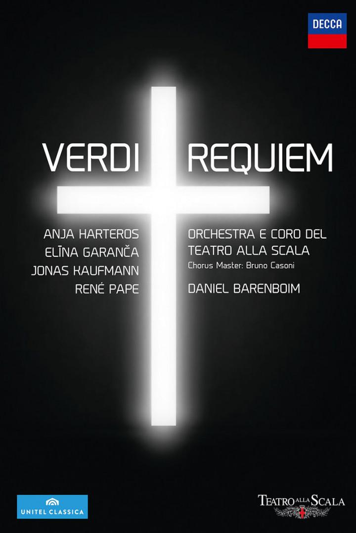 Verdi Requiem: Kaufmann,Jonas/Harteros/Garanca/Pape/Barenboim
