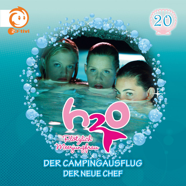 20: Der Campingausflug / Der neue Chef: H2O - Plötzlich Meerjungfrau