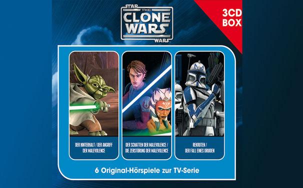 The Clone Wars, The Clone Wars 3-CD Hörspielbox ab Oktober 2013