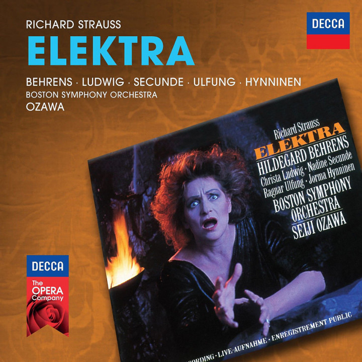 R. Strauss: Elektra (Decca Opera): Ozawa/Behrens/Ludwig/Secunde/Ulfung/Hynninen/+