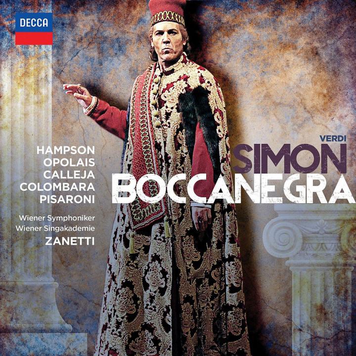 Simon Boccanegra: Calleja,Joseph/Hampson/Opolais/Zanett/WSY/+