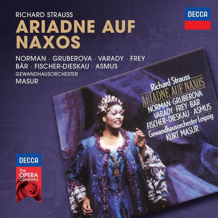 R. Strauss: Ariadne auf Naxos (Decca Opera): Masur/Norman/Gruberova/Varady/Fischer-Dieskau/+