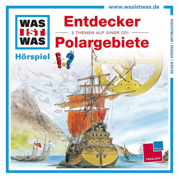 Folge 17: Entdecker/Polargebiete: Was Ist Was