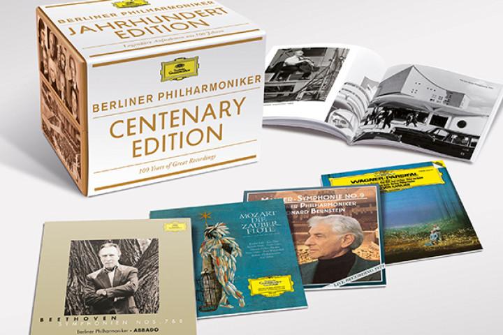 Berliner Philharmoniker & Deutsche Grammophon: Legendäre Aufnahmen aus 100 Jahren auf 50 CDs