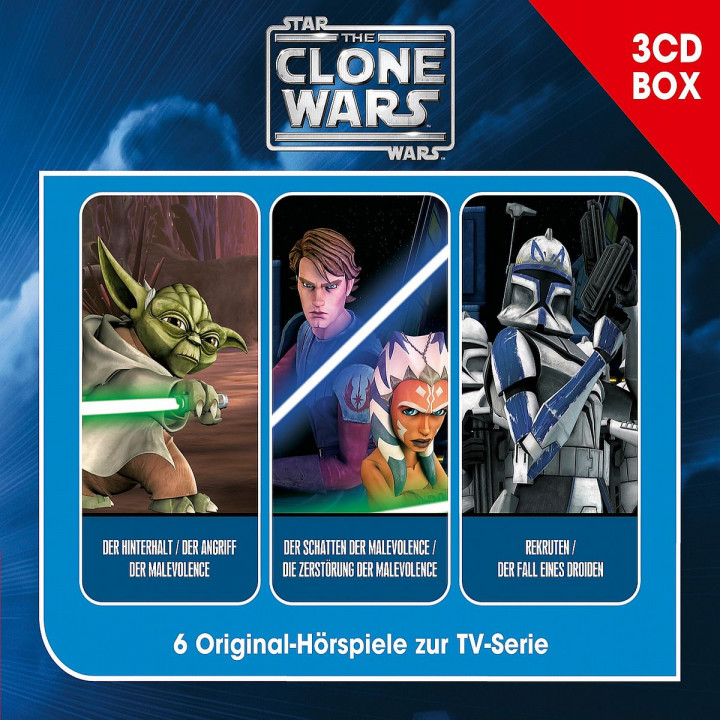 The Clone Wars - Hörspielbox Vol. 1