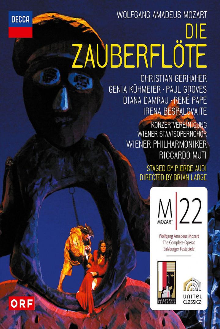 Mozart: Die Zauberflöte: Damrau/Pape/Muti/WP/+