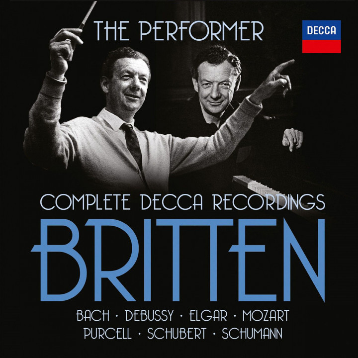 Britten - The Performer (Ltd. Edt.): Britten,Benjamin/Richter/RostropovichLSO/+