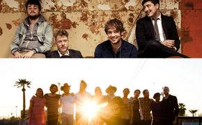 Edward Sharpe And The Magnetic Zeros, Mumford & Sons nehmen ihre Lieblingsband unter Vertrag