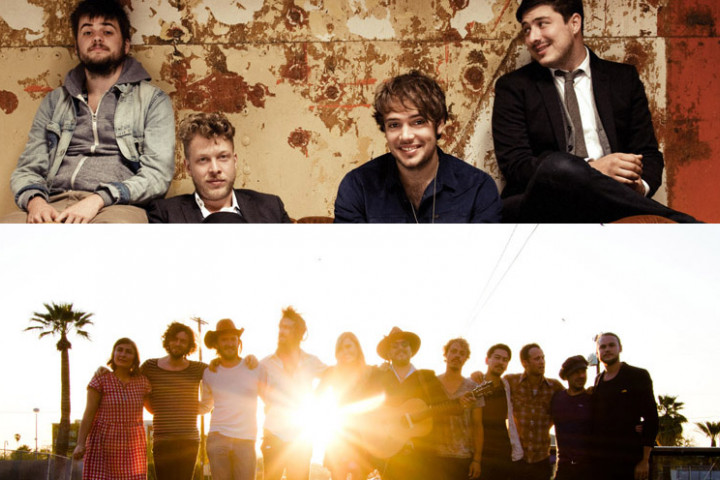 Mumford & Sons / Edward Sharpe And The Magnetic Zeros