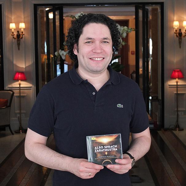 Gustavo Dudamel, Gustavo Dudamel und Deutsche Grammophon kündigen erstes Album mit den Berliner Philharmonikern an