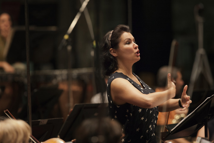 Anna Netrebko mit dem Orchester des Teatro Regio