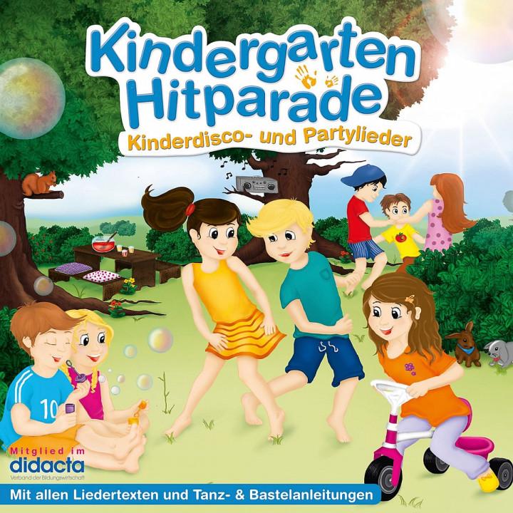 Die Kindergarten Hitparade - 02: Kinderdisco- und Partylieder