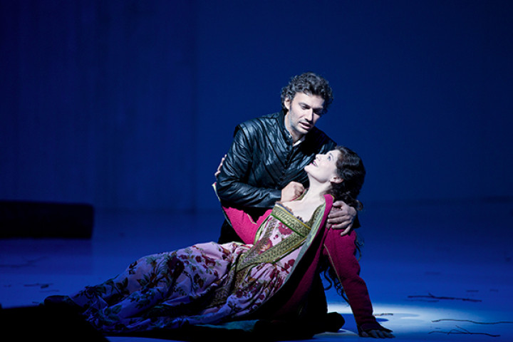 Salzburger Festspiele: Don Carlo 2013: JONAS KAUFMANN (DON CARLO), ANJA HARTEROS (ELISABETTA DI VALOIS)