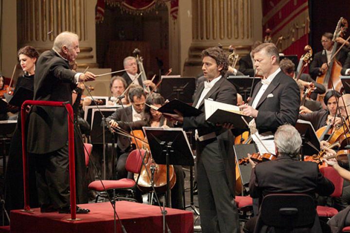 Daniel Barenboim, Jonas Kaufmann und das Orchestra Del Teatro Alla Scala Di Milano