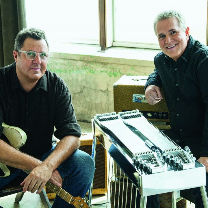 Vince Gill & Paul Franklin 2