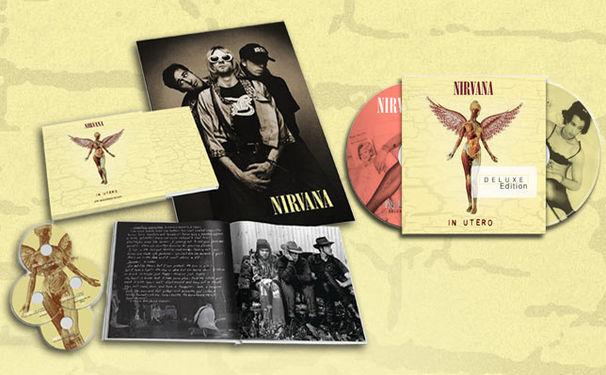 Nirvana, Jubiläums-Editionen von Nirvanas In Utero-Album am 20. September 2013