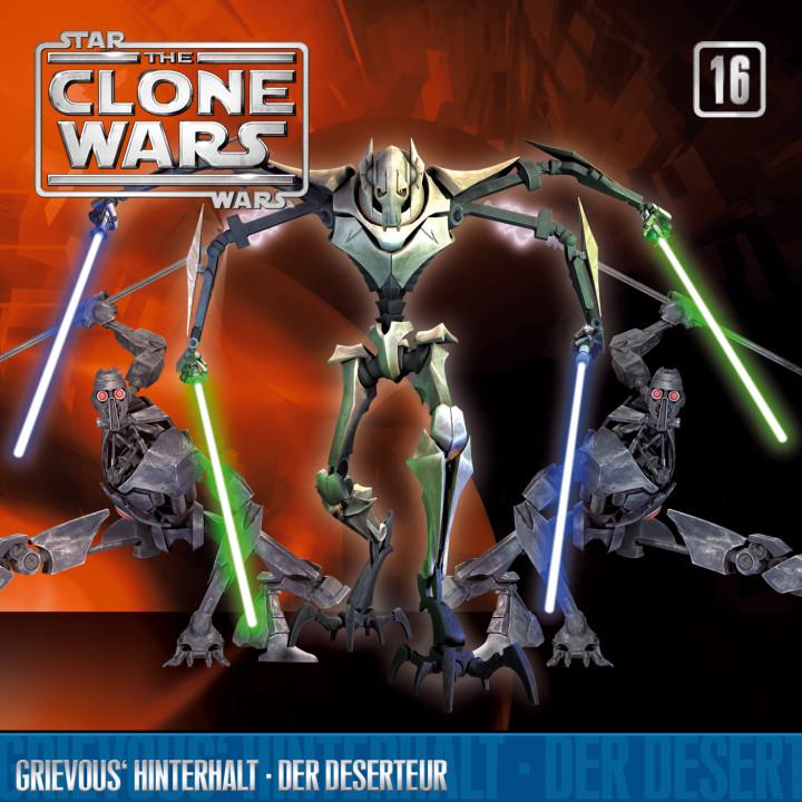 The Clone Wars - Folge 16: Grievous' Hinterhalt/ Der Deserteur