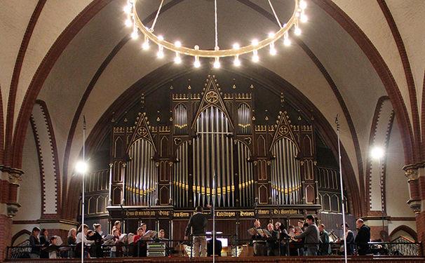 Rundfunkchor Berlin, Morgenlicht: Der Rundfunkchor Berlin singt Kirchenlieder und Choräle