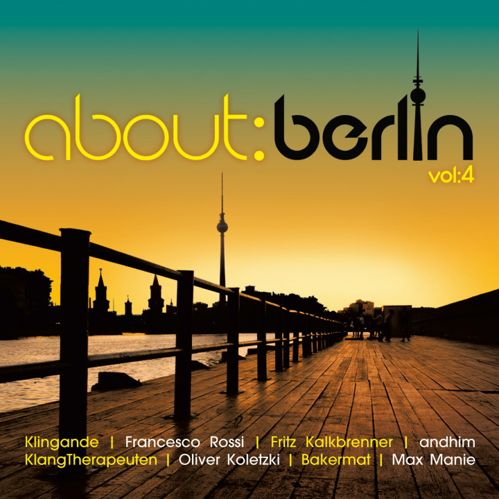 about: berlin Vol. 4 - UMG Cover