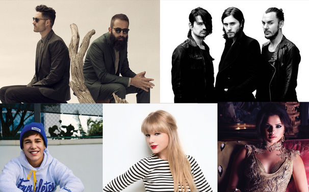 Austin Mahone, Austin, Selena, Taylor & Co. sind die Gewinner der VMAs 2013