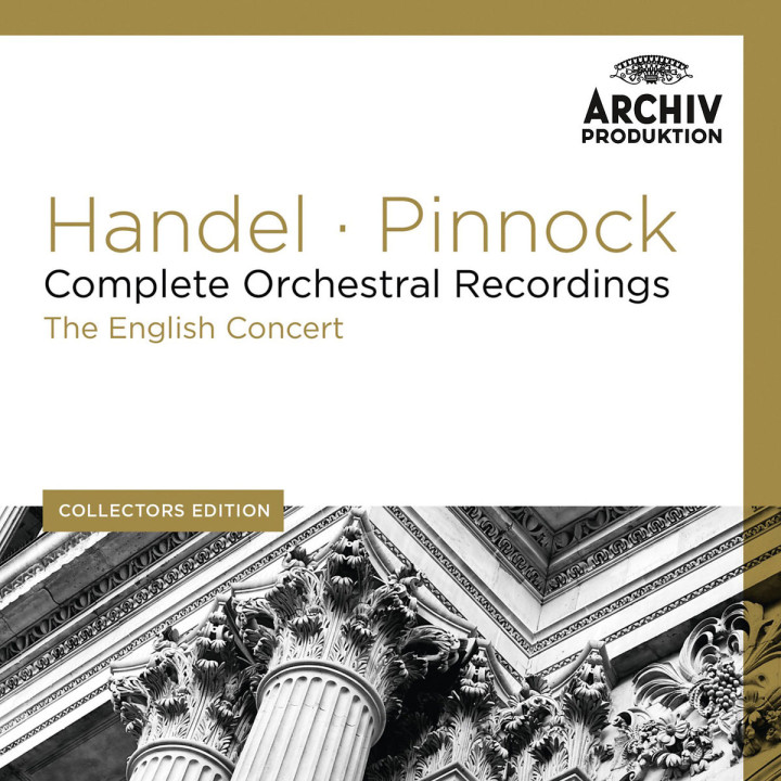 Sämtliche Orchesteraufnahmen: Pinnock/EC