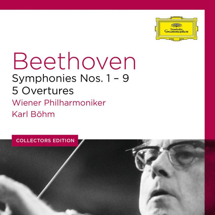 Die Sinfonien Nr. 1-9  & 5 Ouvertüren: Böhm/WP/Jones/Troyanos/Thomas/Ridderbusch