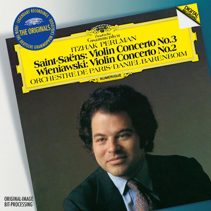 Violinkonzert Nr. 3 / Violinkonzert Nr. 2: Perlman,Itzhak/Barenboim/Orchestre de Paris
