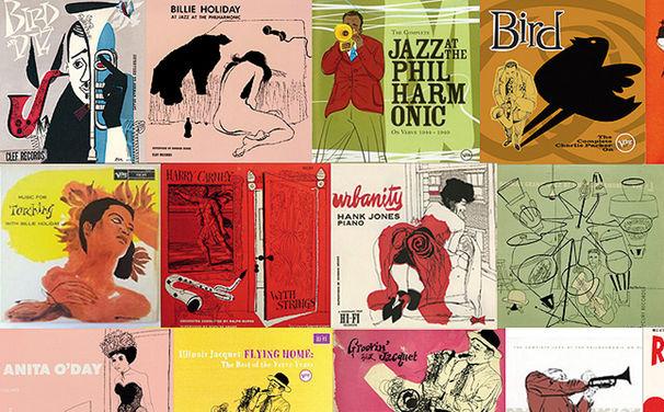 Various Artists, David Stone Martin: Ein Cover-Künstler der besonderen Art