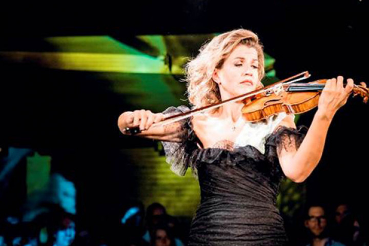 Anne-Sophie Mutter @ Yellow Lounge