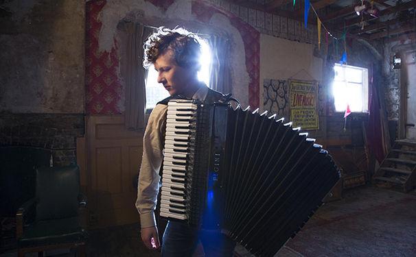 Martynas, Akkordeon-Star Martynas überzeugt das Publikum in Berlin