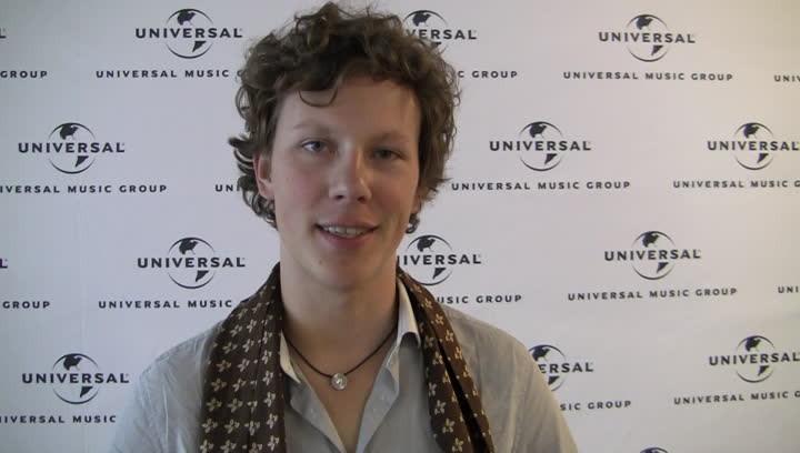 Interview Martynas bei der Universal-Vertriebstagung