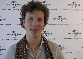 Martynas, Interview Martynas bei der Universal-Vertriebstagung