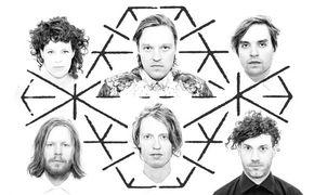Arcade Fire, Arcade Fire haben ein neues Doppel-Album Reflektor für Ende Oktober angekündigt
