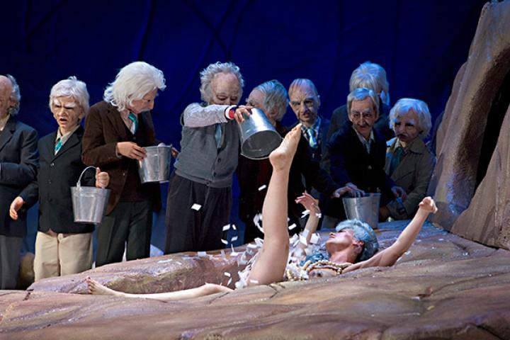 Ein Sommernachtstraum: Nicole Chevalier und der Kinderchor der Komischen Oper