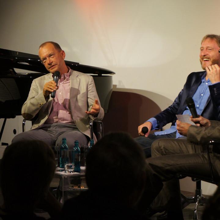 Albrecht Mayer und Klaus Wallendorf