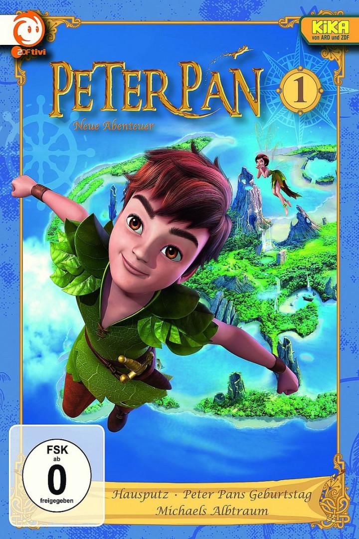 01: Hausputz/Peter Pans Geburtstag/Albtraum: Peter Pan