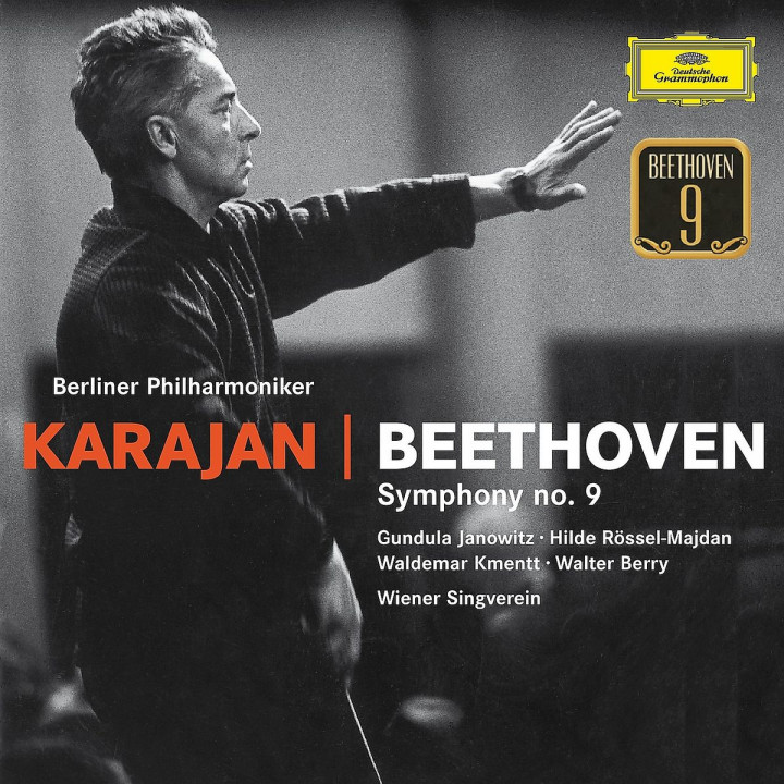 Karajan: Beethoven Sinfonie Nr. 9: Karajan/Janowitz/Kmentt/Berry//BP/+