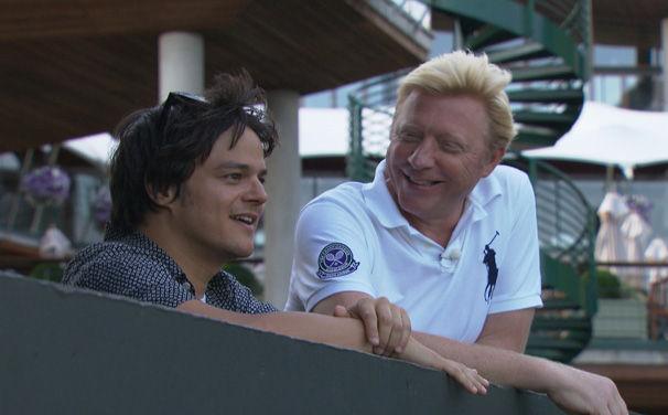 Jamie Cullum, Jamie Cullum zieht mit Boris Becker bei Arte Durch die Nacht
